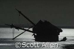 Shipwrecks, Northern Baja On a full moon by Scott Allen 